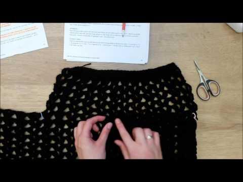 Stap Voor Stap Een Leuke Vest Haken Deel 6 Youtube