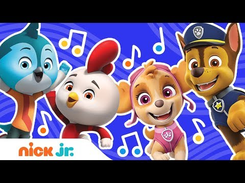 PAW Patrol & Top Wing Theme Song Remix In 4 Ways 🎵 Music Video   #TopWingTuesday