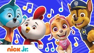 Download PAW Patrol & Top Wing Theme Song Remix in 4 Ways 🎵| Music Video | Nick Jr.