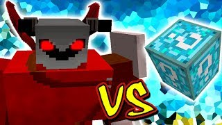 DEMONIO LORDE VS. LUCKY BLOCK DREAM (MINECRAFT LUCKY BLOCK CHALLENGE DEMON LORD)