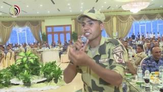 """""""رسالة إلى الجماعات الإرهابية"""" قصيدة شعر لجندى مقاتل من القوات المسلحة"""