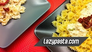 Farfalle With Tuna In White Sauce | Easy Pasta Recipes By Lazy Pasta