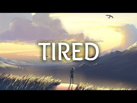 Alan Walker  Tired Lyrics ft Gavin James