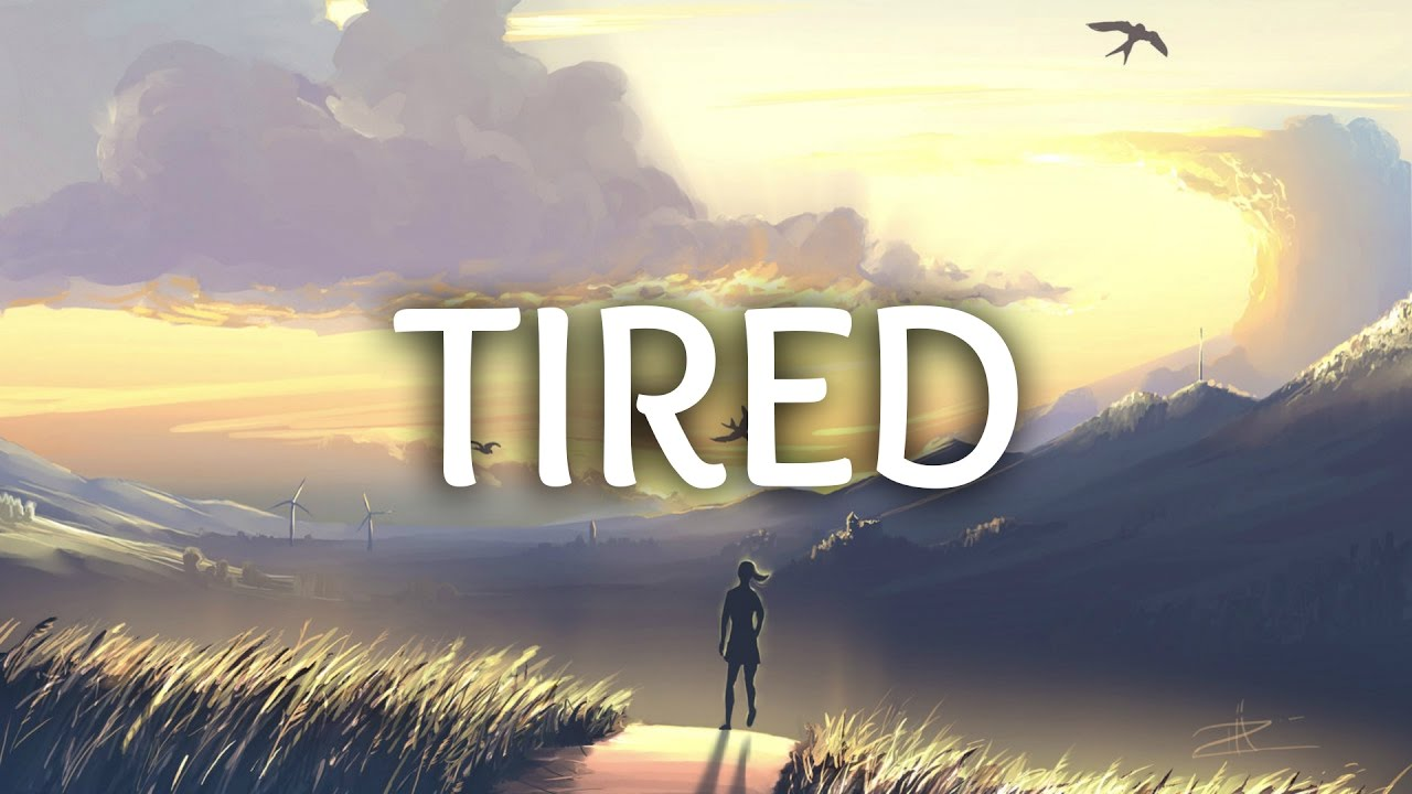 Alan Walker - Tired (Lyrics) ft. Gavin James - YouTube