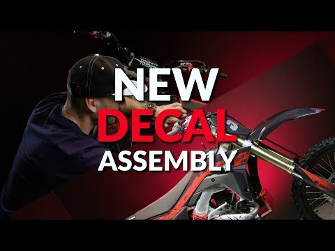 24MX - How To Apply New Motocross Decals/graphics