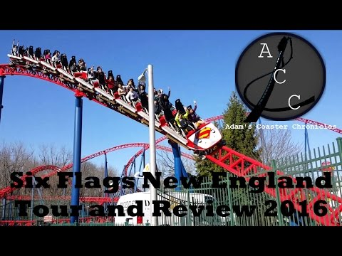 Six Flags New England Tour and Review 2016