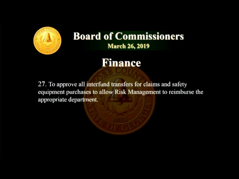 Cobb County Board of Commissioners Meeting - 03/26/19
