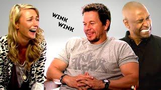 Video MARK WAHLBERG'S Flirting And DENZEL WASHINGTON Hilarious Reaction... download MP3, 3GP, MP4, WEBM, AVI, FLV Juli 2018