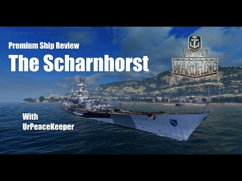 World of Warships Premium Review - The KMS Scharnhorst