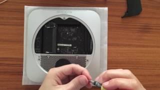 Замена диска в Mac mini 2012 на SSD