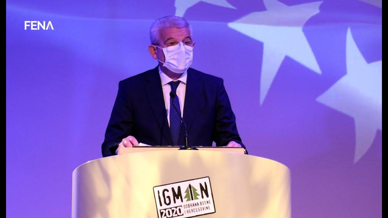 Džaferović otvorio manifestaciju 'Odbrana BiH - Igman 2020' - YouTube