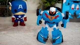 Тобот Y - новая игрушка. Видео для детей про Тоботов. Супергерои и Тоботы