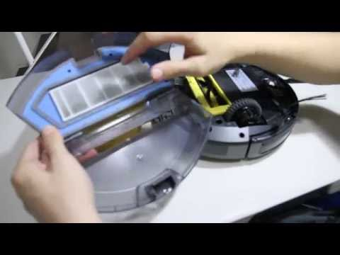 How To Empty The (Chuwi) ILIFE A4 Robot Vacuum