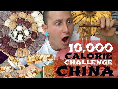 10,000 CALORIE CHALLENGE IN CHINA || CHEAT DAY TRAVEL EDITION