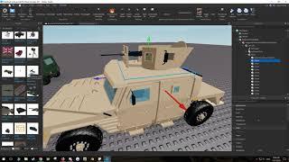 La tourelle Vanguard s'installe sur le véhicule - Roblox