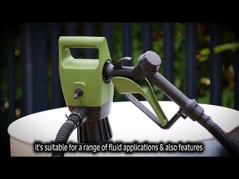 Groz 45503 12V Electric Drum Pump