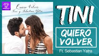 Tini, Sebastian Yatra - Quiero Volver (Karaoke With Backing Vocals)