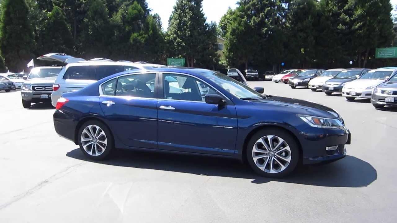 2013 Honda Accord, Obsidian Blue Pearl - STOCK# 13176J ...