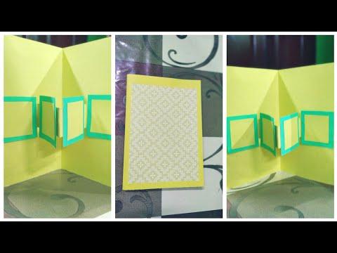 Pop-up Card DIY Birthday Card Ideas Handmade for Friends / birthday Card for best friend #Papercraft