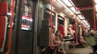 Metro Praha - Linka C - Letňany►Kobylisy