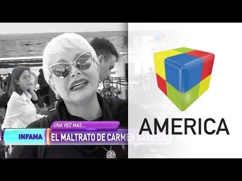 La furia de Carmen Barbieri con la cronista de Infama