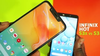 Infinix Hot S3x vs Hot S3 // No Contest... Only one Winner!
