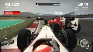 F1 2010 - akár a valódi Formula1 - PC játék teszt (Gamezone) - HD
