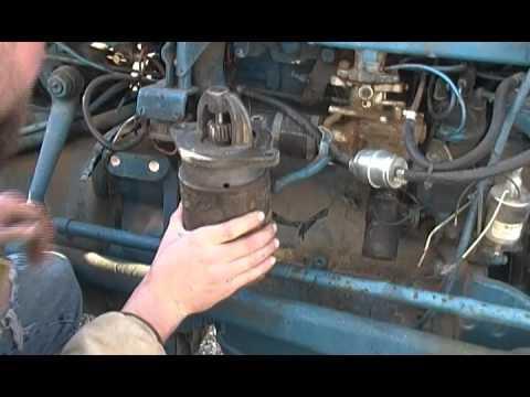 Ford Tractor Distributor Meltdown Part 4 Starter Problems