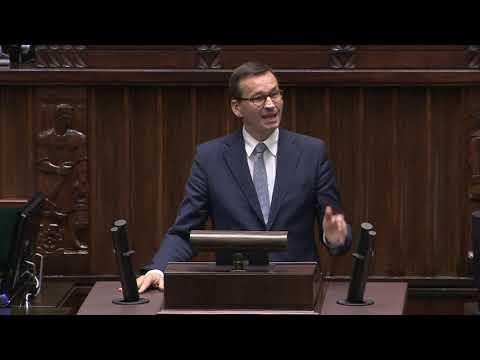 Premier Morawiecki do opozycji: Nie proszę o 50, nie proszę o 5. Podajcie jeden przykład...