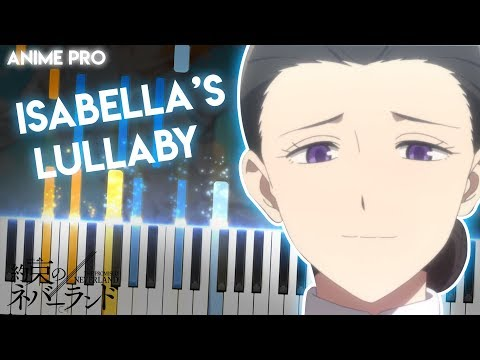 Isabella's Lullaby - Yakusoku No Neverland Main Theme (synthesia Piano Tutorial)