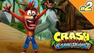 Crash Bandicoot #02 PL - RAGE MNIE ŁAPIE! XD [PS4 Remaster]