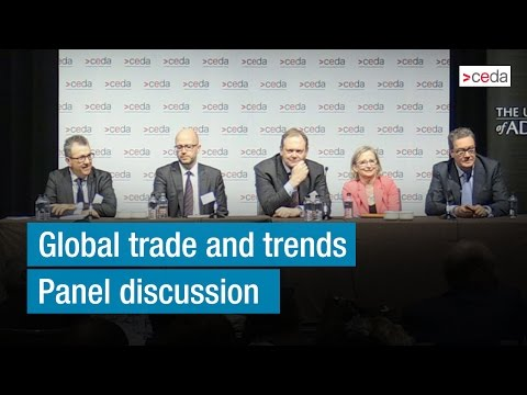 Global trade and trends - Panel discussion
