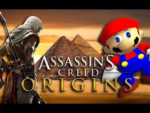 If Mario was in... Assassins Creed Origins |