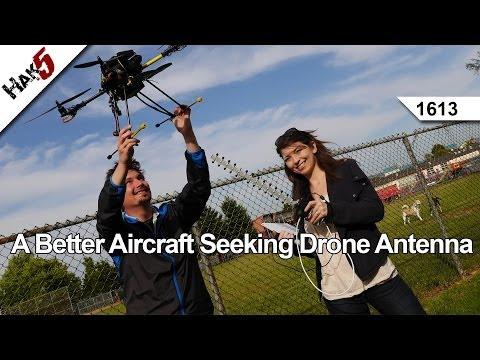 A Better Aircraft Seeking Drone Antenna, Hak5 1613
