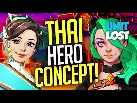 "Overwatch - INSANE ""Tara"" Support Hero Concept!"