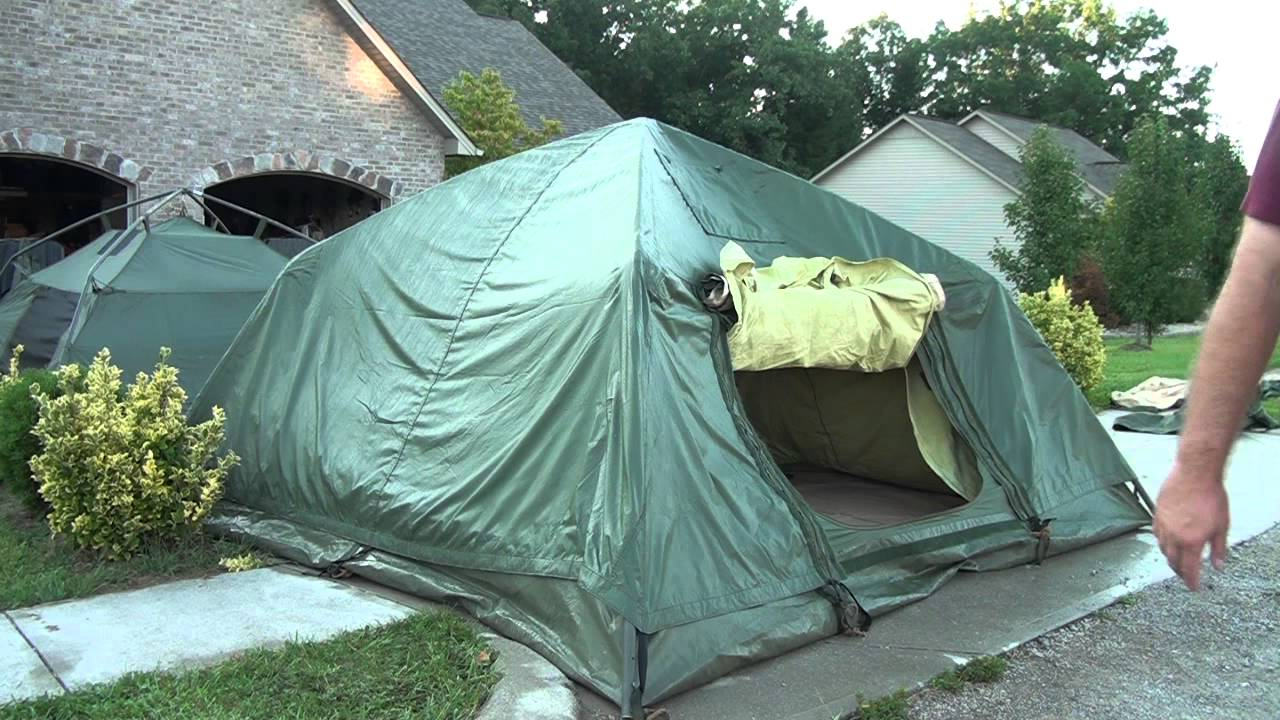 & 5 Person Crew Tent (Fly) - YouTube