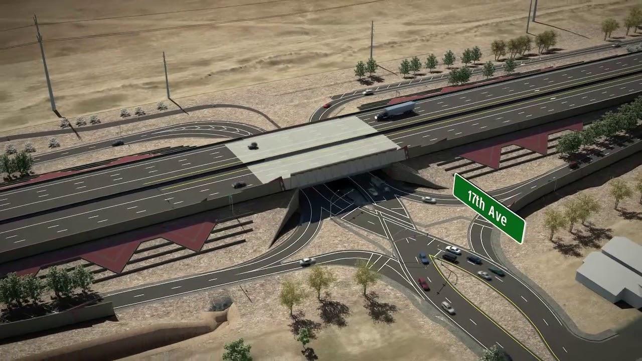 Map Of Loop 202 Arizona.Arizona Dot Loop 202 South Mountain Freeway Project Youtube