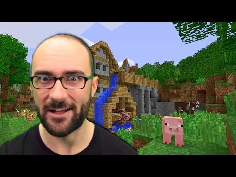 Vsauce plays Minecraft