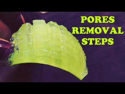 HOW TO GET RID of PORES ON FACE | PORE CLEANER, PORE TIGHTENING & PORE REMOVER naturally & permanent