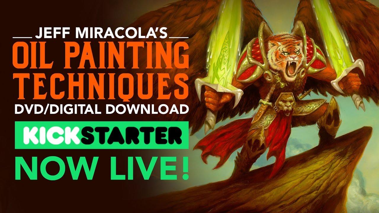 Fantasy art workshop oil painting techniques – digital download.