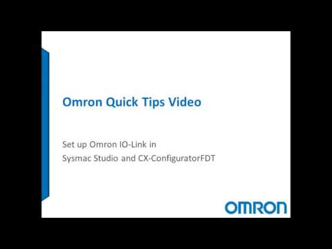How to Set up Omron IO-Link Master and Devices