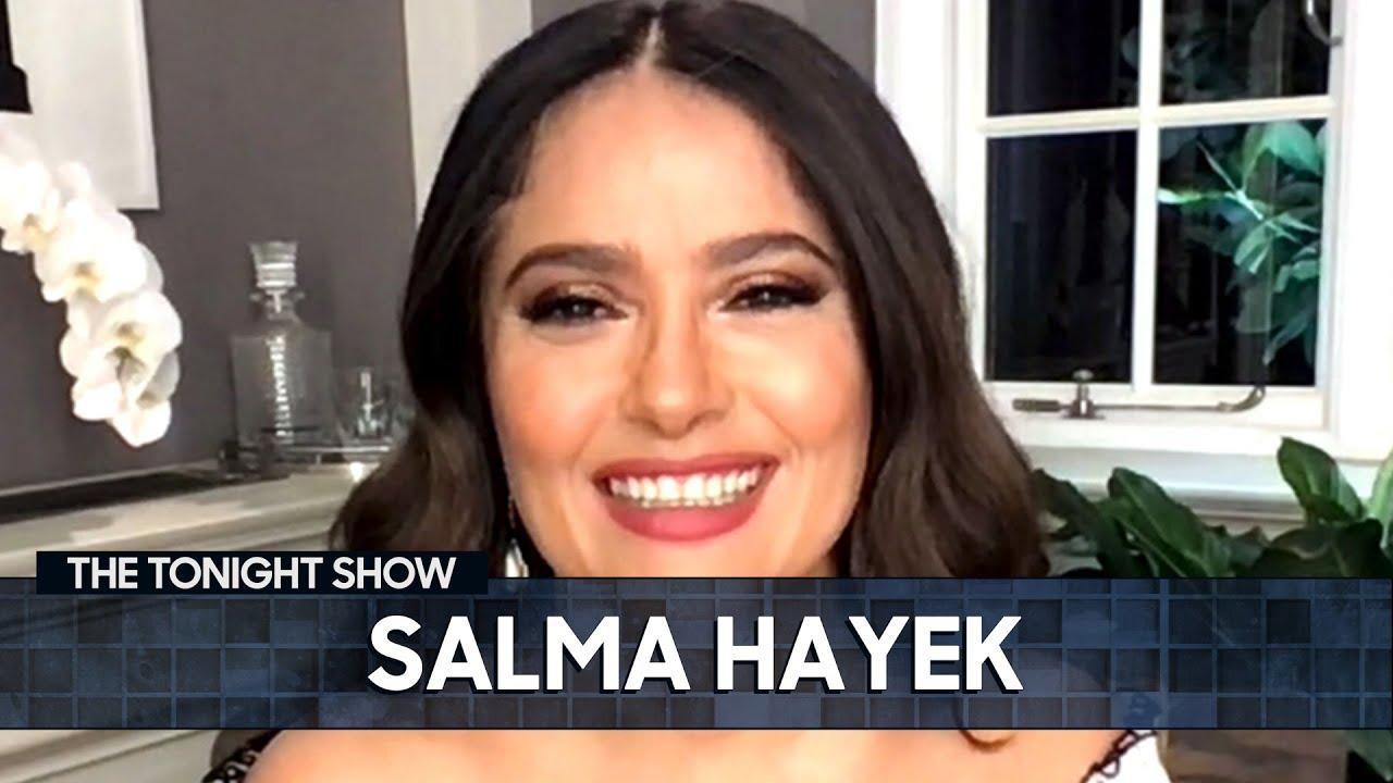 Salma Hayek Practiced Cursing Before Filming Scenes with Samuel ...