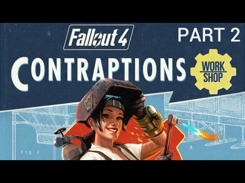 Fallout 4: Contraptions - Part 2 - Displays, Elevators and Fireworks