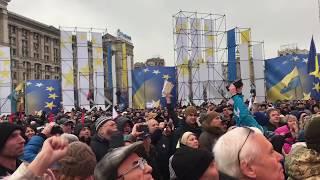 МихоМайдан в Киеве 10 декабря: «У вас можно переночевать? В палатках уже нет мест»