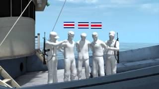 Costa Rica coast guard nets nearly 2 ton cocaine haul