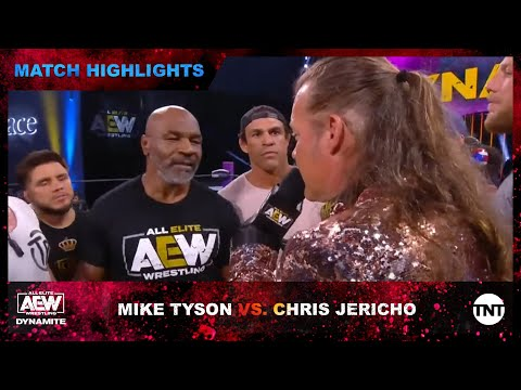 Chris Jericho And Iron Mike Tyson Get Into Brawl At AEW Dynamite