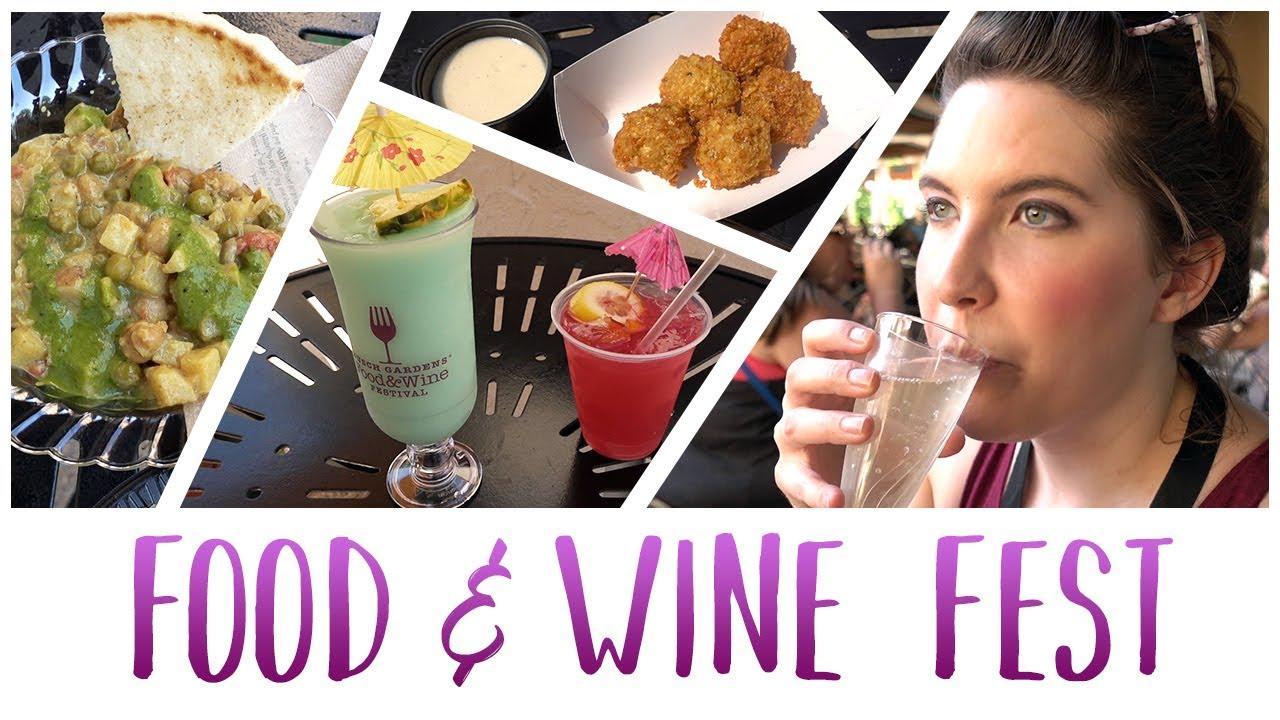 Busch Gardens Food Wine Festival 2017 Youtube