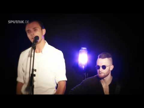 "HURTS ""Some Kind Of Heaven"" acoustic session MDR Sputnik 21.07.2015"