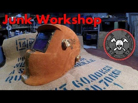Custom Welding Helmets >> Diy Steampunk Leather and Brass Custom Welding Helmet ...