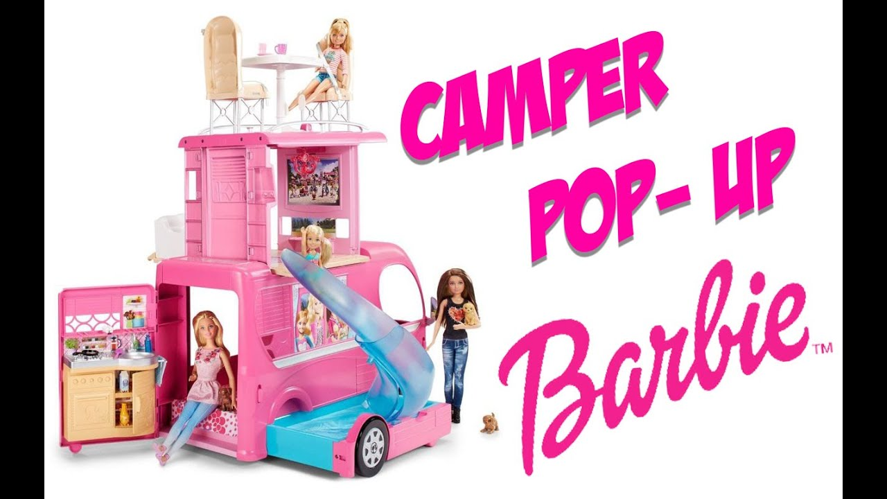camper pop up barbie recensione review youtube